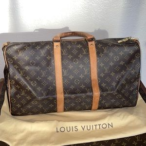 Authentic Louis Vuitton keepall 50 travel duffle
